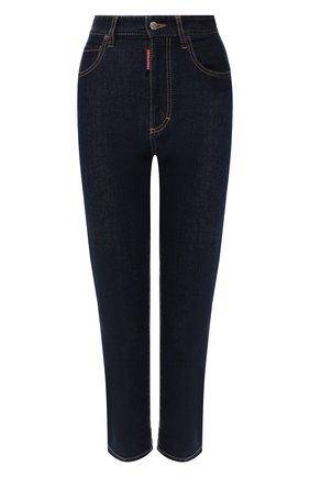 Женские джинсы DSQUARED2 темно-синего цвета, арт. S75LB0211/S30595 | Фото 1