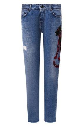 Женские джинсы ESCADA SPORT синего цвета, арт. 5029795 | Фото 1