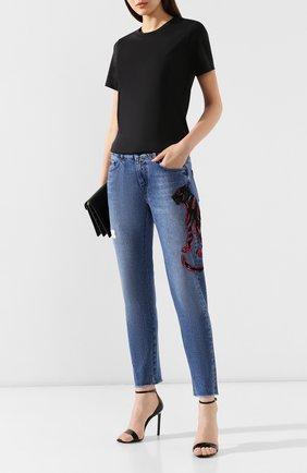 Женские джинсы ESCADA SPORT синего цвета, арт. 5029795 | Фото 2