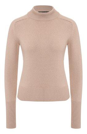 Женский кашемировый пуловер LORO PIANA светло-розового цвета, арт. FAI7528   Фото 1