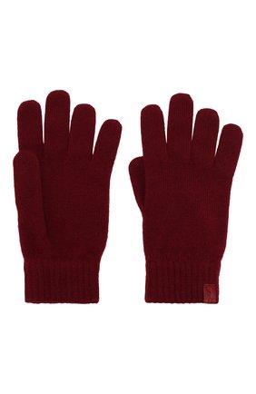 Мужские кашемировые перчатки GIORGIO ARMANI красного цвета, арт. 744141/7A211 | Фото 2