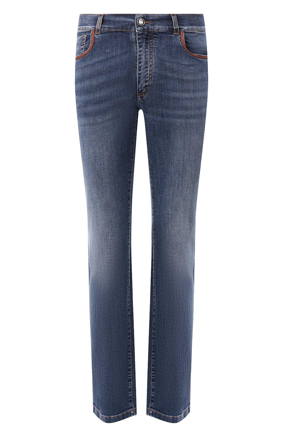 Мужские джинсы BILLIONAIRE синего цвета, арт. I19C MDT1470 BTE001N | Фото 1