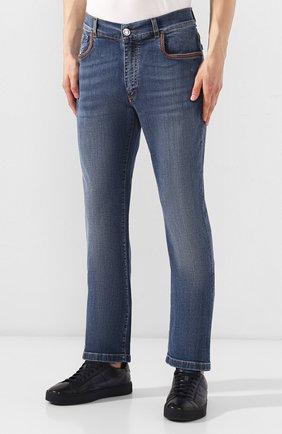 Мужские джинсы BILLIONAIRE синего цвета, арт. I19C MDT1470 BTE001N | Фото 3