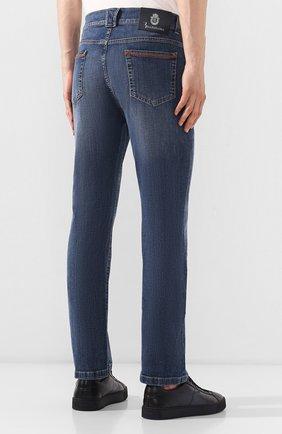 Мужские джинсы BILLIONAIRE синего цвета, арт. I19C MDT1470 BTE001N | Фото 4