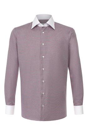 Мужская хлопковая сорочка ZILLI разноцветного цвета, арт. MFS-MERCU-12120/RZ01 | Фото 1