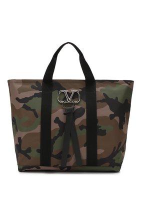 Текстильная сумка-шоппер Valentino Garavani | Фото №1