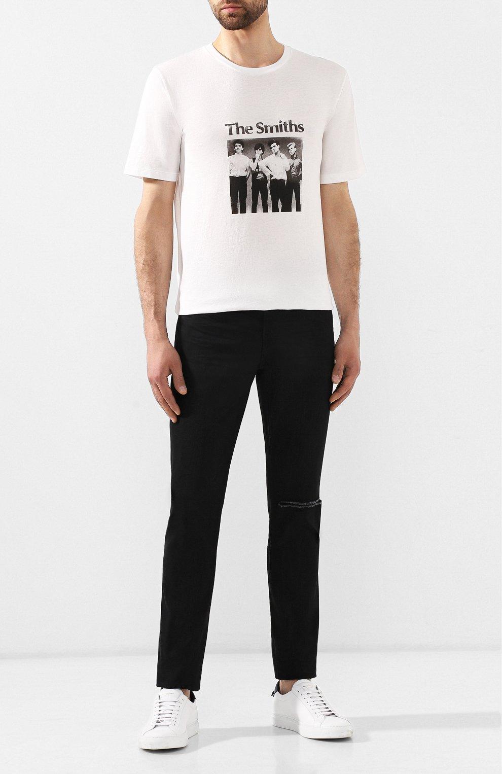 Джинсы Saint Laurent черные | Фото №2