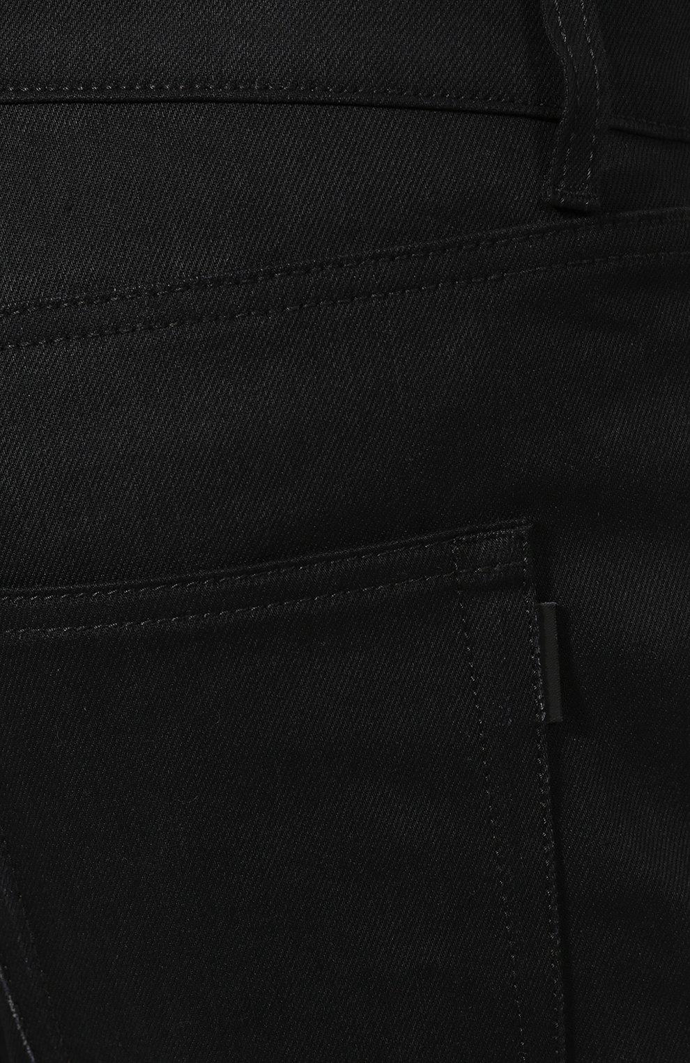 Джинсы Saint Laurent черные | Фото №5