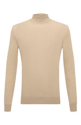 Мужской кашемировый свитер LORO PIANA кремвого цвета, арт. FAG3513 | Фото 1