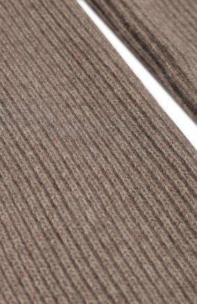Мужской шерстяной шарф BRIONI коричневого цвета, арт. 03MB0L/08K30 | Фото 2
