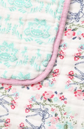 Детского одеяло из муслинового хлопка ADEN+ANAIS розового цвета, арт. DISN252G | Фото 2