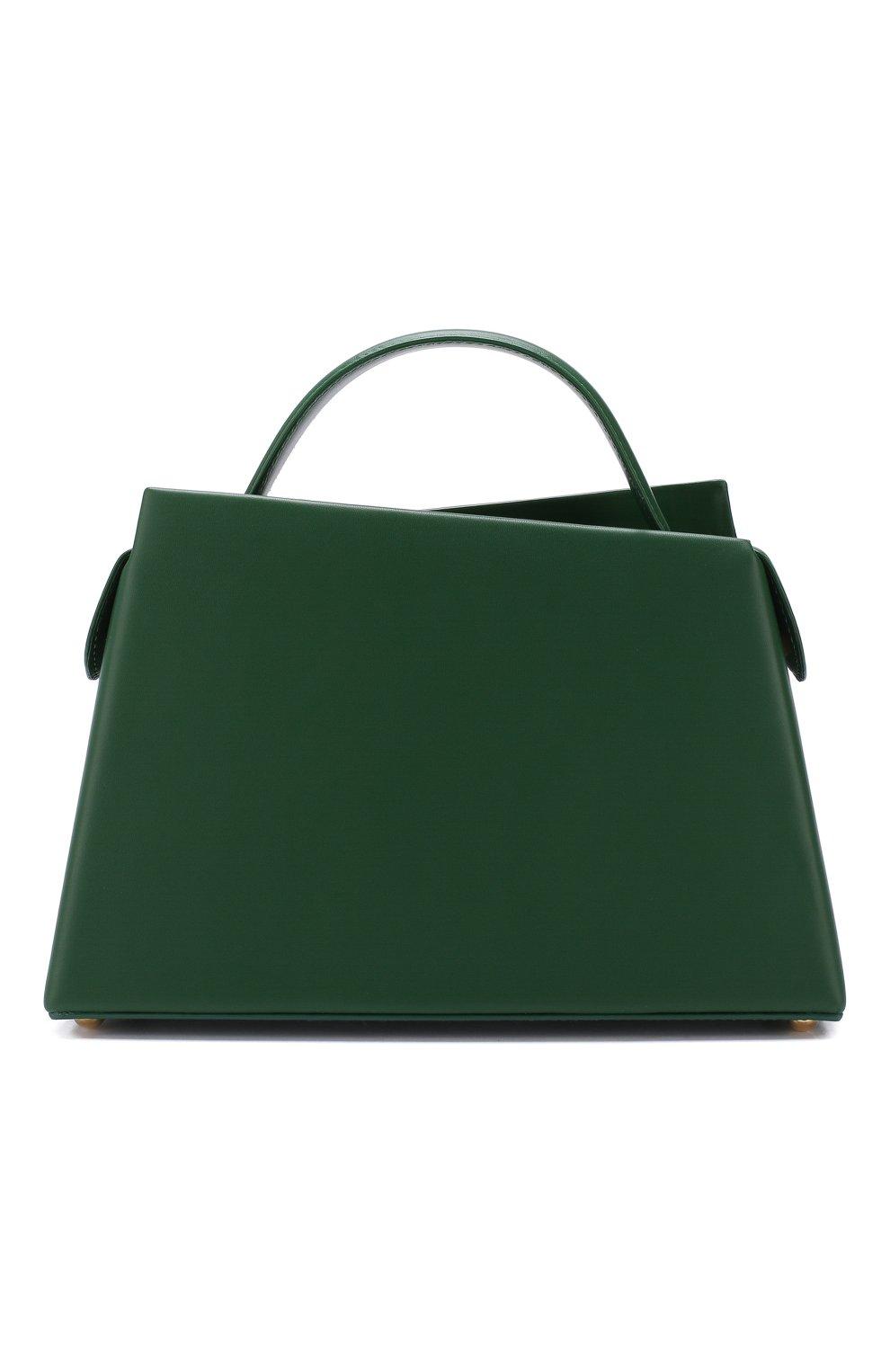 Женская сумка maurice BY FAR зеленого цвета, арт. MAURICE/LEATHER | Фото 1