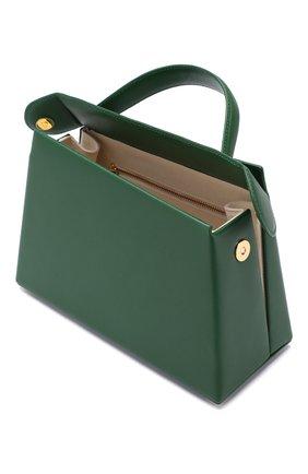 Женская сумка maurice BY FAR зеленого цвета, арт. MAURICE/LEATHER | Фото 4