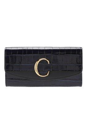 Кожаный кошелек Chloé C | Фото №1