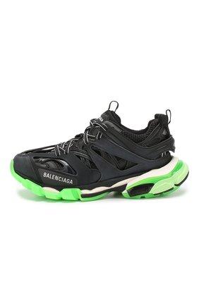 Текстильные кроссовки Track Balenciaga черные | Фото №3
