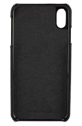 Мужской чехол для iphone xs max DBRAMANTE1928 черного цвета, арт. TUXPGTBL0923   Фото 2