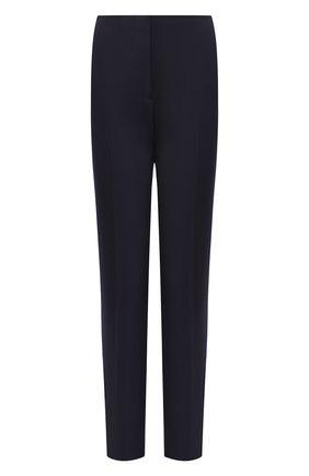 Женские шерстяные брюки RALPH LAUREN темно-синего цвета, арт. 290739790 | Фото 1