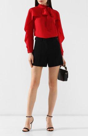 Женские шорты REDVALENTINO черного цвета, арт. SR3RFB20/2EU | Фото 2