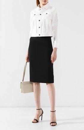 Женская куртка с пайетками RALPH LAUREN белого цвета, арт. 290756601 | Фото 2