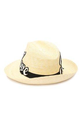 Мужская соломенная шляпа DOLCE & GABBANA бежевого цвета, арт. GH660Z/GEG65 | Фото 2
