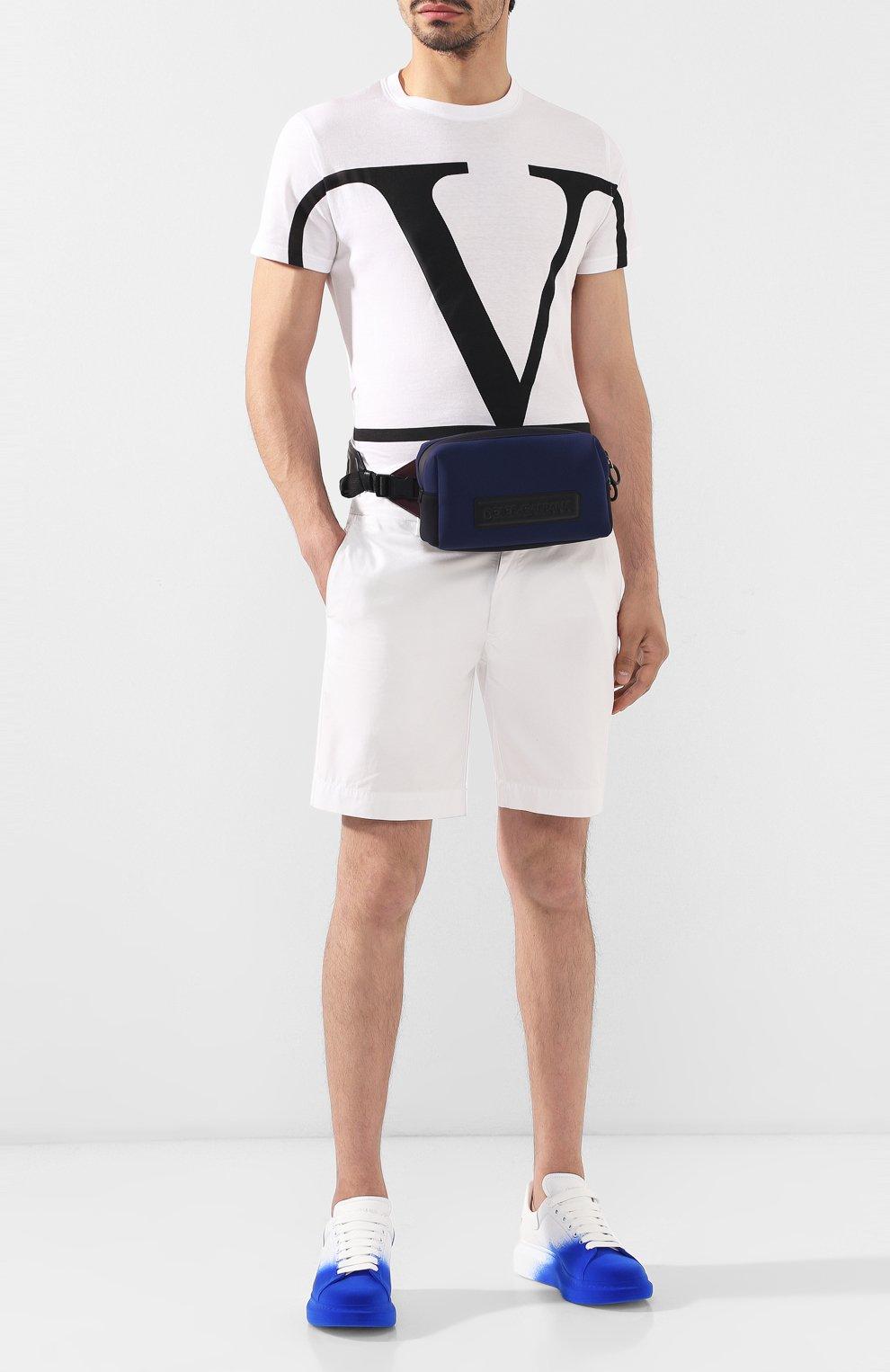 Комбинированная поясная сумка Monreale Dolce & Gabbana синяя | Фото №2