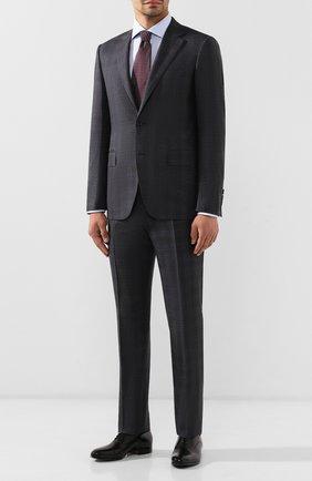 Мужской шерстяной костюм CANALI темно-серого цвета, арт. 11280/19/BF00781 | Фото 1