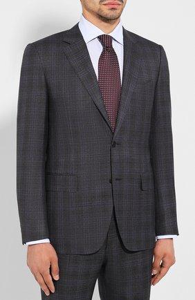 Мужской шерстяной костюм CANALI темно-серого цвета, арт. 11280/19/BF00781 | Фото 2