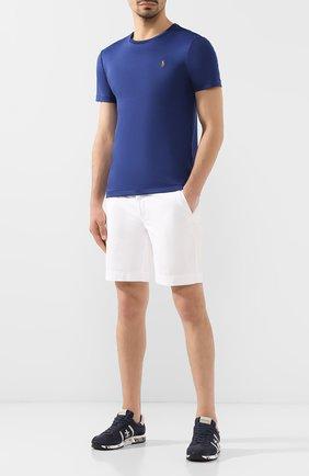 Мужские комбинированные кроссовки lucy PREMIATA темно-синего цвета, арт. LUCY/VAR2808 | Фото 2