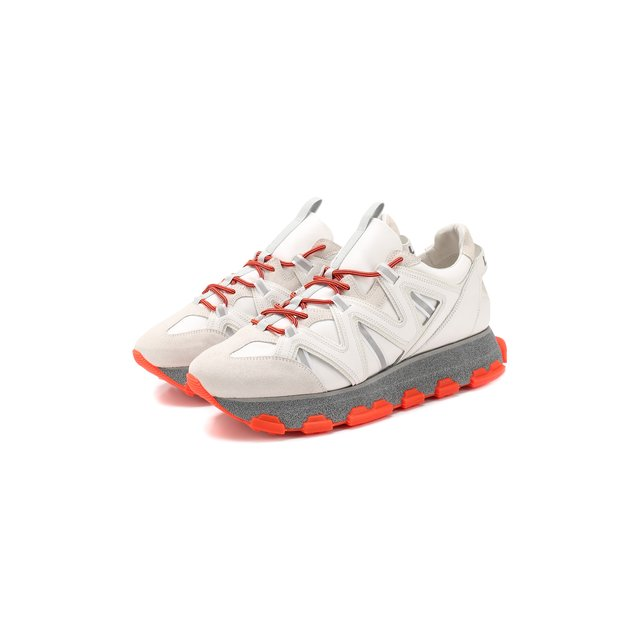 Кожаные кроссовки Lanvin — Кожаные кроссовки
