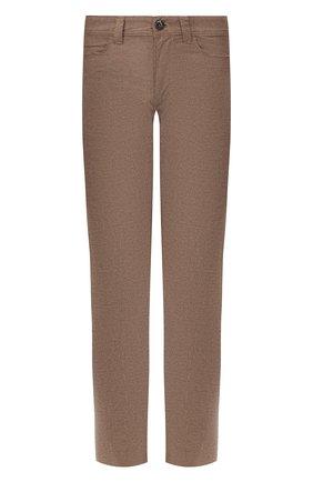 Мужские хлопковые брюки LORO PIANA коричневого цвета, арт. FAI8340 | Фото 1 (Статус проверки: Проверена категория, Проверено; Длина (брюки, джинсы): Стандартные; Материал внешний: Хлопок; Силуэт М (брюки): Чиносы; Случай: Повседневный; Стили: Кэжуэл)
