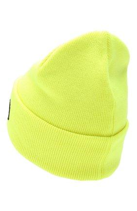 Мужская шерстяная шапка DSQUARED2 желтого цвета, арт. KNM0001 05M02265 | Фото 2