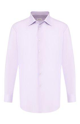 Мужская хлопковая сорочка BRIONI сиреневого цвета, арт. RCLU1R/0804U | Фото 1