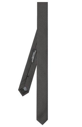 Мужской шелковый галстук DOLCE & GABBANA черного цвета, арт. GT142E/G0JIZ | Фото 2