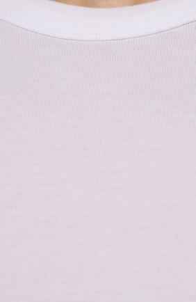 Мужская хлопковая футболка DOLCE & GABBANA белого цвета, арт. G8JX7T/FU7EQ | Фото 5