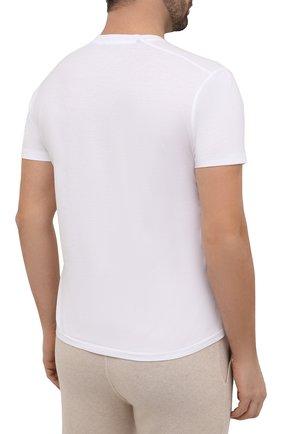 Мужская футболка TOM FORD белого цвета, арт. BT229/TFJ950 | Фото 4