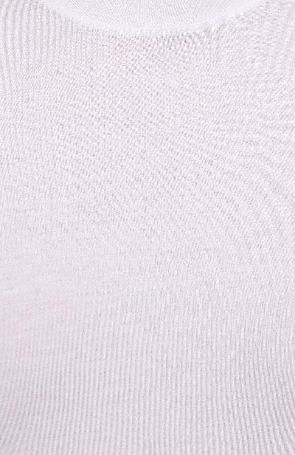 Мужская футболка TOM FORD белого цвета, арт. BT229/TFJ950 | Фото 5