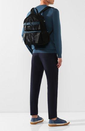 Мужской текстильный рюкзак PRADA разноцветного цвета, арт. 2VZ025-2ACN-F0YSK   Фото 2