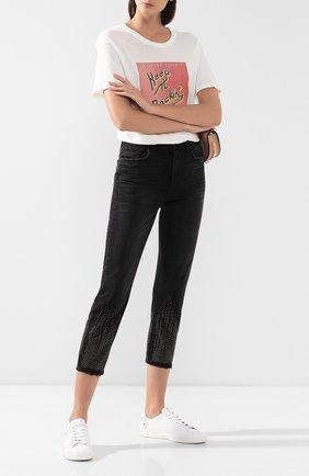 Женские джинсы CURRENT/ELLIOTT черного цвета, арт. 18-4-003918-PT00953   Фото 2
