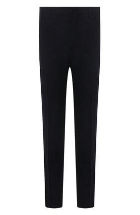 Мужские шерстяные брюки PRADA темно-синего цвета, арт. SPG29-1RII-F0008 | Фото 1