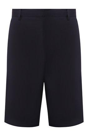 Мужские хлопковые шорты PRADA синего цвета, арт. UP0053-1P4T-F0124 | Фото 1