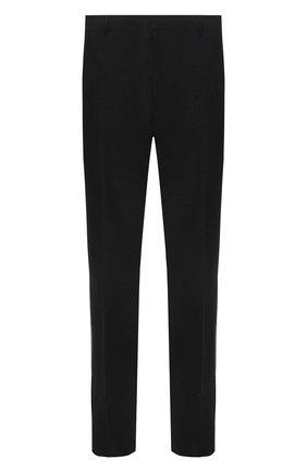 Мужские шерстяные брюки PRADA темно-серого цвета, арт. SPG29-1RII-F0308 | Фото 1