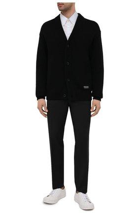 Мужские шерстяные брюки PRADA темно-серого цвета, арт. SPG29-1RII-F0308 | Фото 2