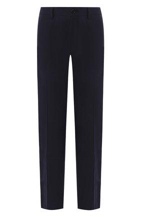 Мужские брюки PRADA синего цвета, арт. SPE12-1KJW-F0124   Фото 1