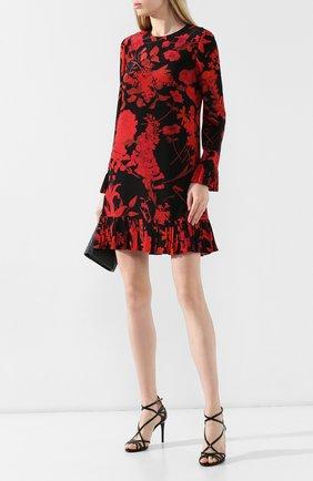 Женские кожаные босоножки keira DOLCE & GABBANA черного цвета, арт. CR0864/AA803 | Фото 2
