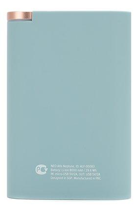 Мужского портативный аккумулятор neo alfa 8000mah ROMBICA голубого цвета, арт. ALF-00083 | Фото 2