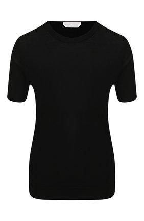 Женский шерстяной топ BOSS черного цвета, арт. 50402269 | Фото 1