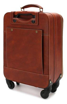 Кожаный дорожный чемодан   Фото №2