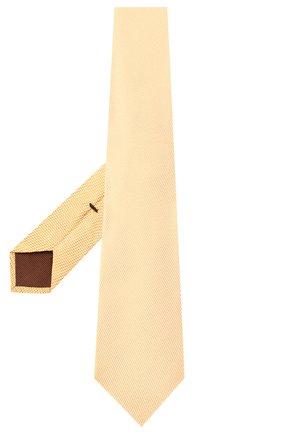 Мужской галстук TOM FORD золотого цвета, арт. 6TF04/XTF | Фото 2