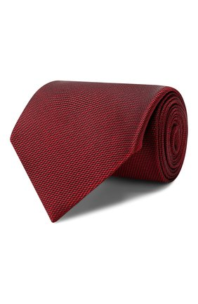 Мужской галстук TOM FORD бордового цвета, арт. 6TF04/XTF | Фото 1