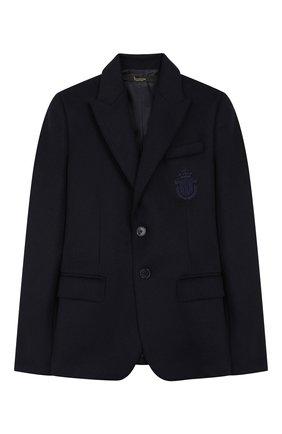 Детский пиджак BILLIONAIRE синего цвета, арт. BRF0082 | Фото 1